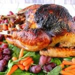 Roast Turkey with Balsamic Herbed Butter