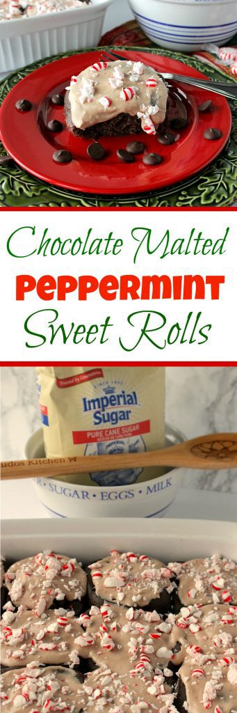Chocolate Malted Sweet Rolls