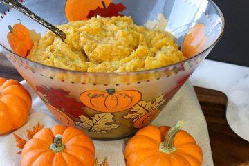 Fall Festival Pumpkin Mashed Potatoes
