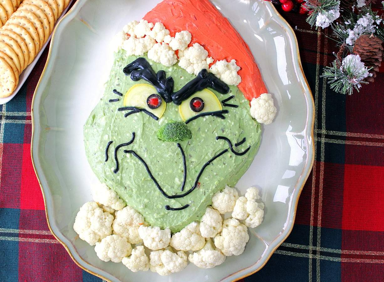Grinch Guacamole Recipe Because Every Holiday Party Needs