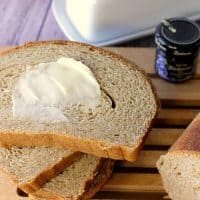Homemade Whole Wheat Honey Ricotta Yeast Bread