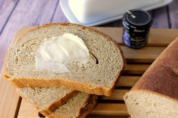 Easy To Make Homemade Whole Wheat Honey Ricotta Yeast Bread