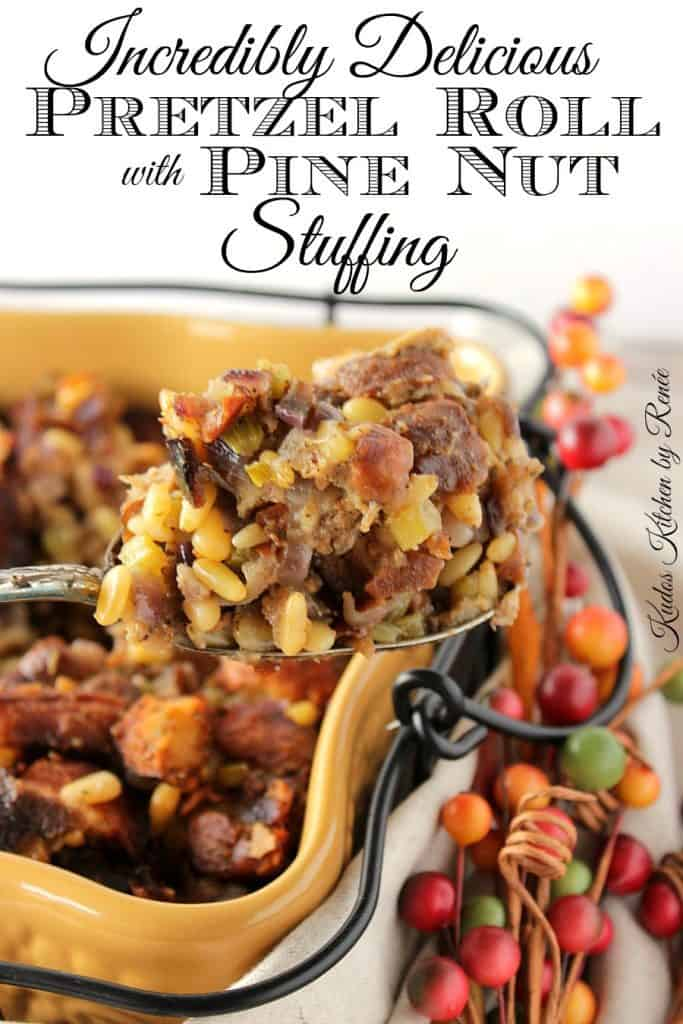 Delicious Pretzel Roll Stuffing