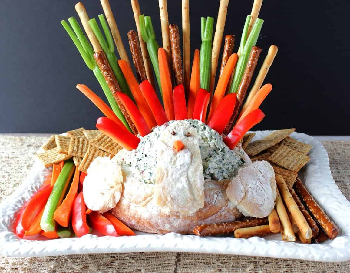 Turkey Bread Bowl Appetizer