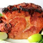 Glazed Ham with Apricot Mustard