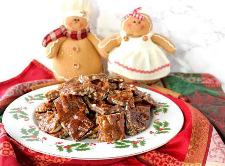 Chewy Gingerbread Toffee Recipe