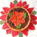 Christmas Bourbon Pecan Pie