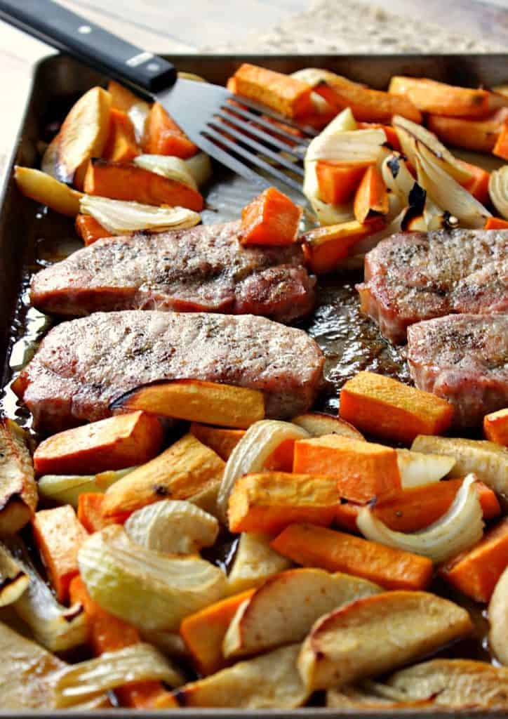 Ponzu Pork Chop Dinner