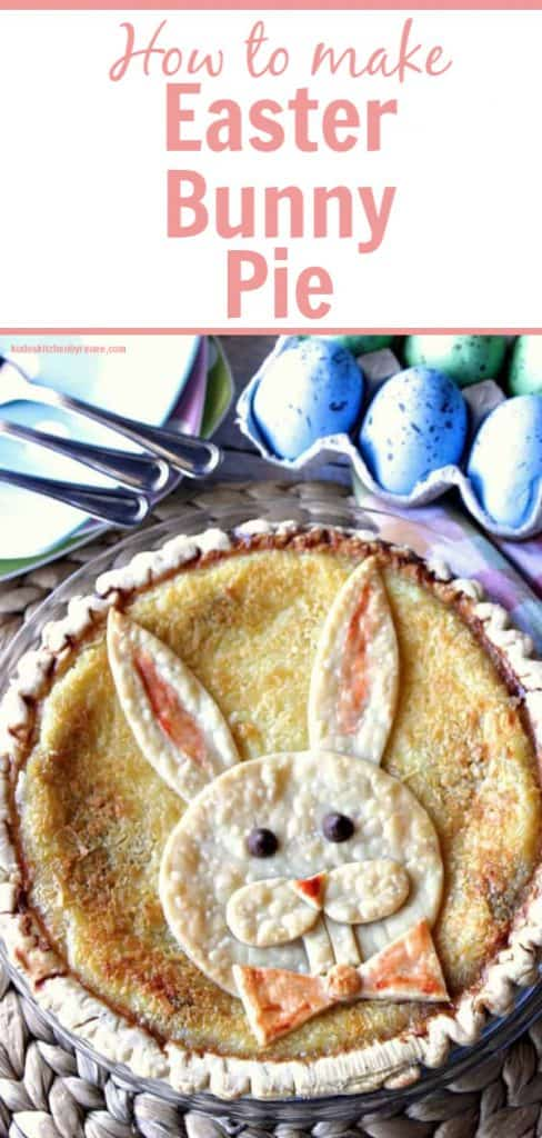 Title Text image of How to make Easter Bunny Pie