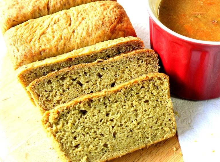 Avocado Yeast Bread with Cilantro