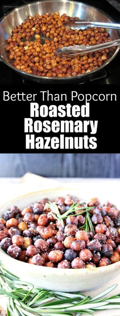 Roasted Rosemary Hazelnuts