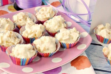 Easy to Make Tropical White Chocolate Candy Bites
