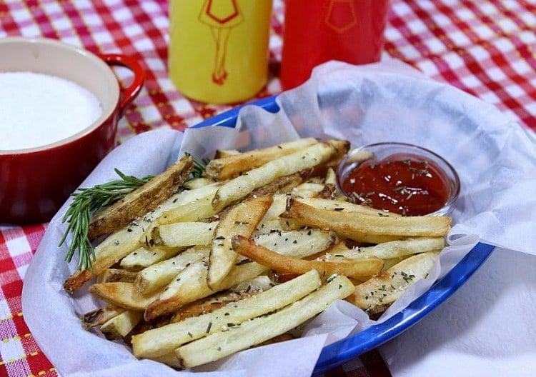 Homemade Rosemary French Fries