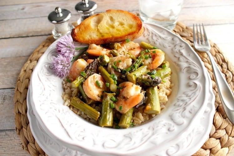 Saucy Shrimp and Asparagus