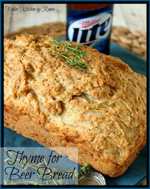 Thyme Beer Bread