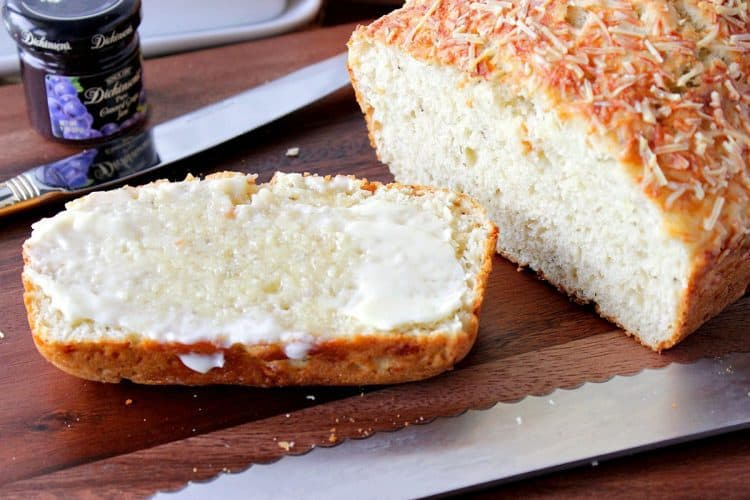 Italian Herb & Parmesan Quick Bread
