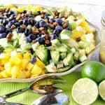 Avocado Mango Salad with Pistachios