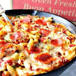 Pepperoni Pizza Macaroni and Cheese Recipe