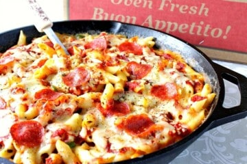 Pepperoni Pizza Macaroni and Cheese Recipe