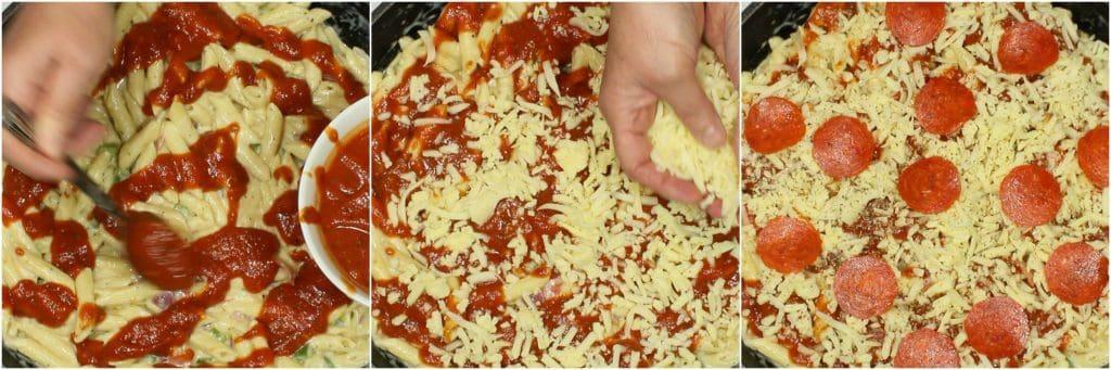 Learn to make Pepperoni Pizza Macaroni & Cheese