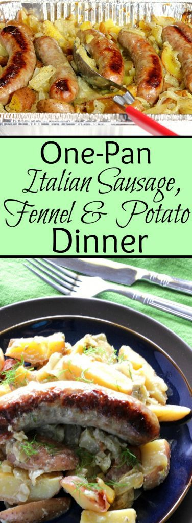 One-Pan Italian Sausage, Fennel & Potato Dinner