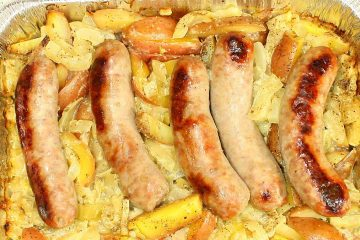 Italian Sausage, Fennel and Potatoes