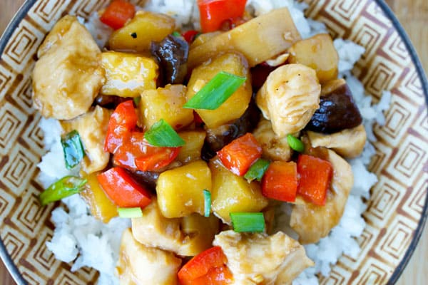 Sheet Pan Chicken Teriyaki Supper