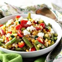 Summer's Best Farmer's Market Vegetable Salad