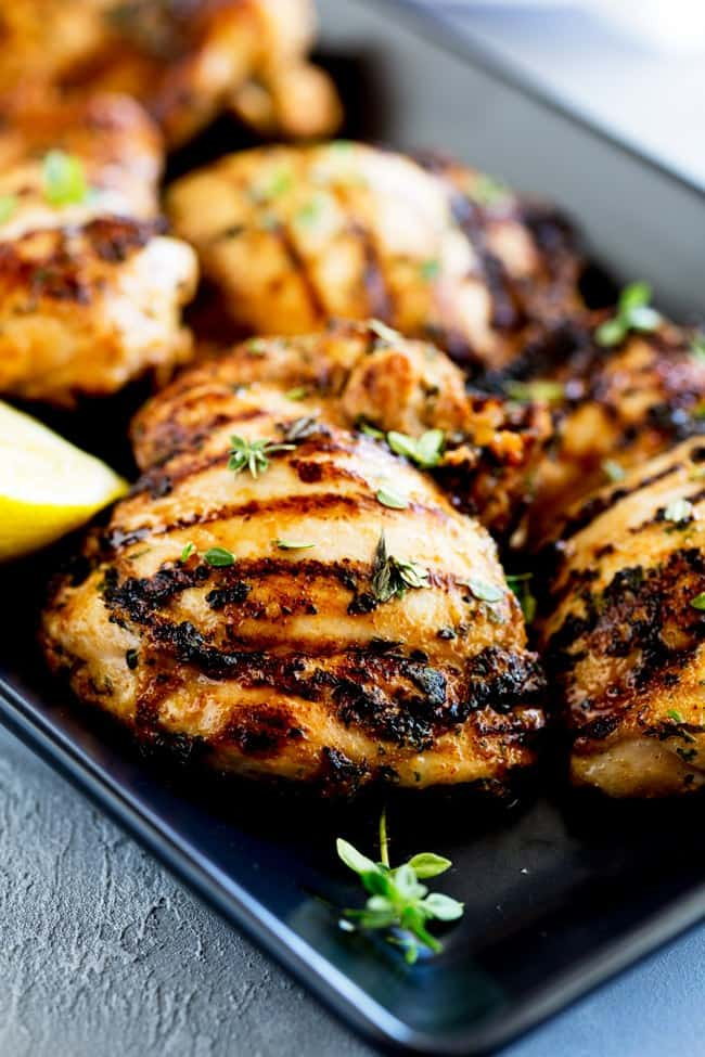 Grilled Chicken and Thyme