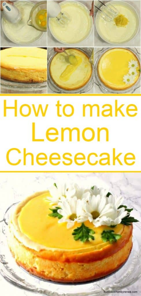 Lemon Cheesecake long title text image