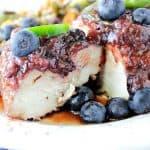 Blueberry Chile Chicken Skillet Dinner