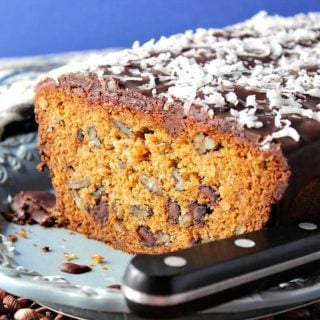Chocolate Chip Dessert Loaf with Coconut and Pecans