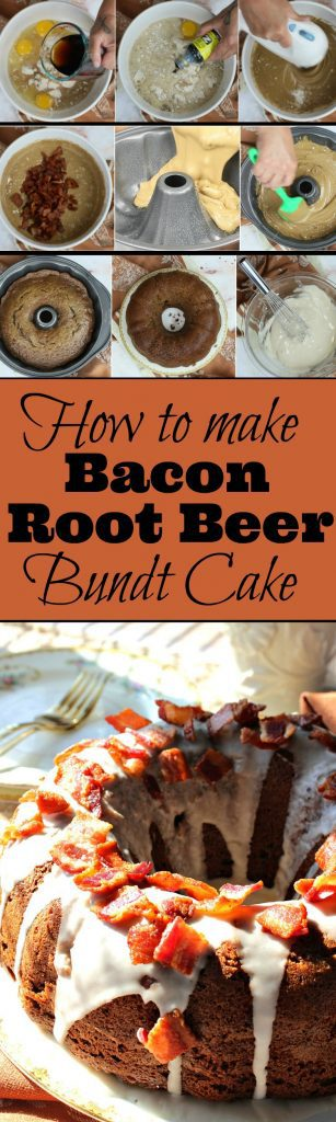 Bacon Root Beer Bundt Cake