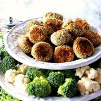 Crunchy Creamy Broccoli Cauliflower Vegetable Tots