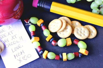 How To Make A Healthy Edible Necklace For Back To School