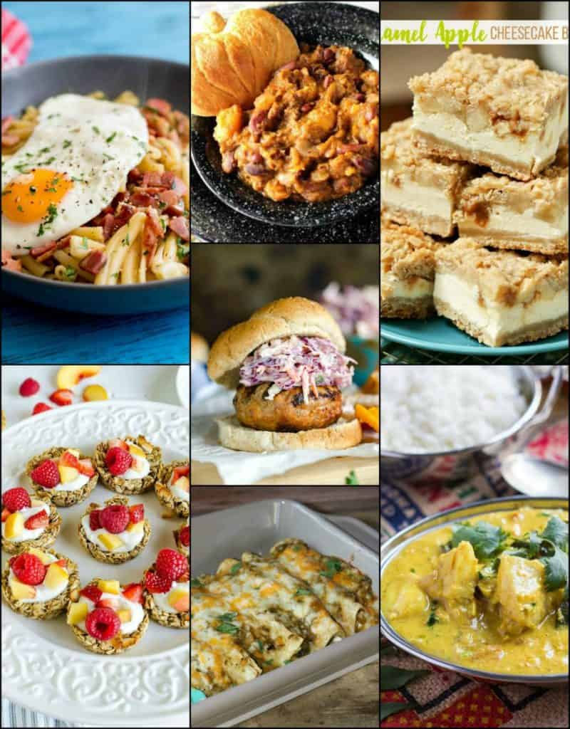 Weekly Meal Planning Week 45 image collage