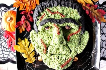 Frankenstein Rice Cereal  Treat