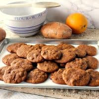Autumn Splendor Soft Chewy Amish Sweet Potato Cookies