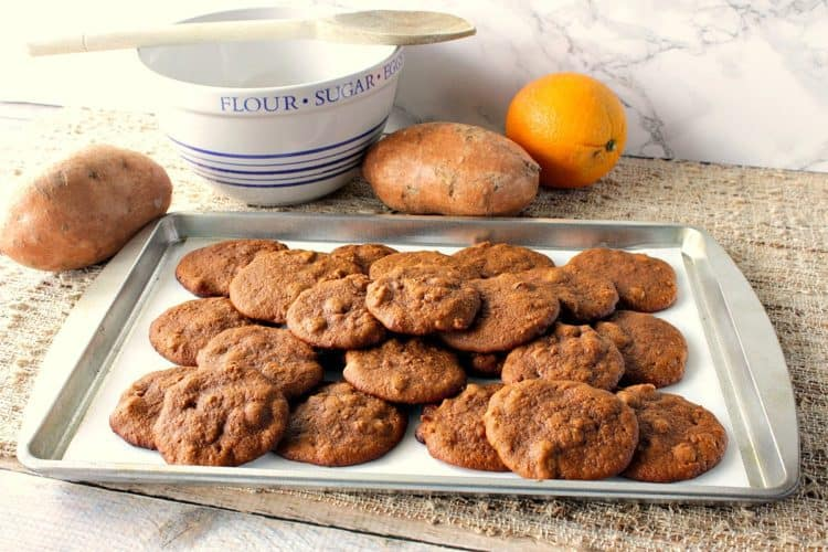 Soft Chewy Amish Sweet Potato Cookies