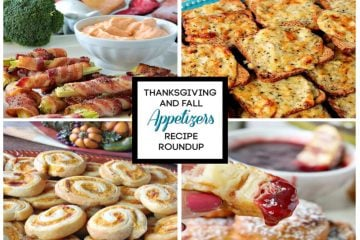 Thanksgiving and Fall Appetizers Recipe Roundup