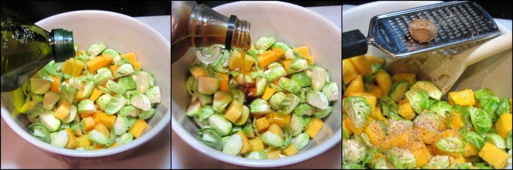 How to make an Autumn Harvest Chopped Fruit & Vegetable Salad