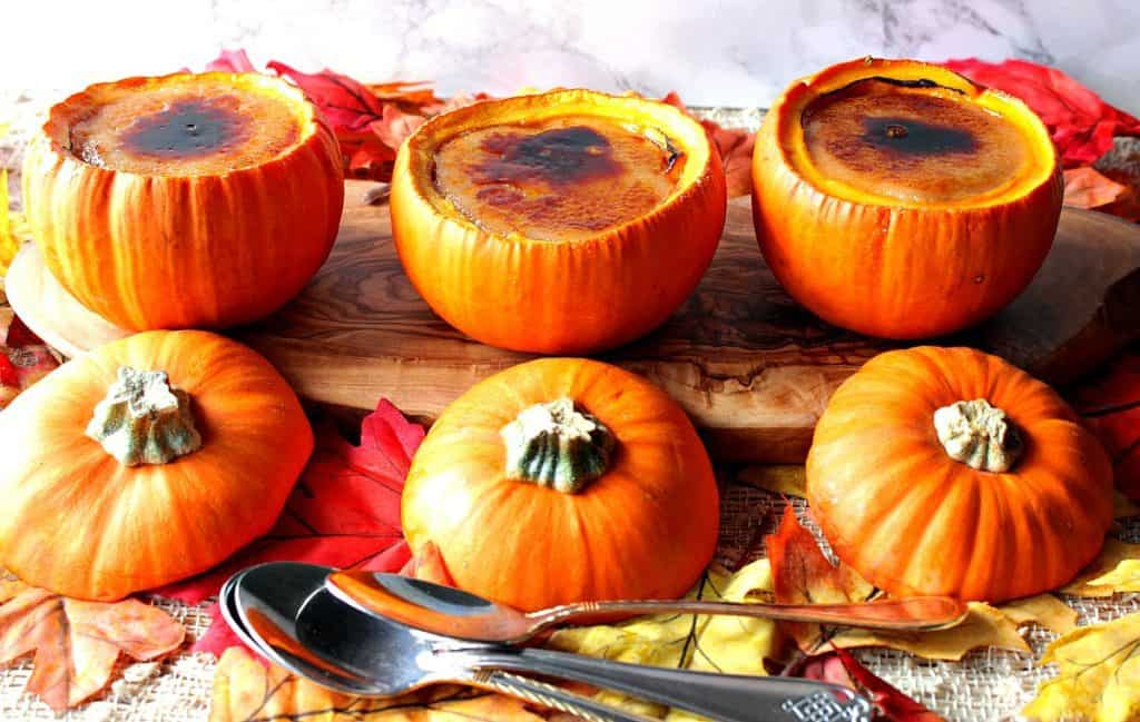 Perfectly Pumpkin Creme Brulée | Kudos Kitchen by Renee