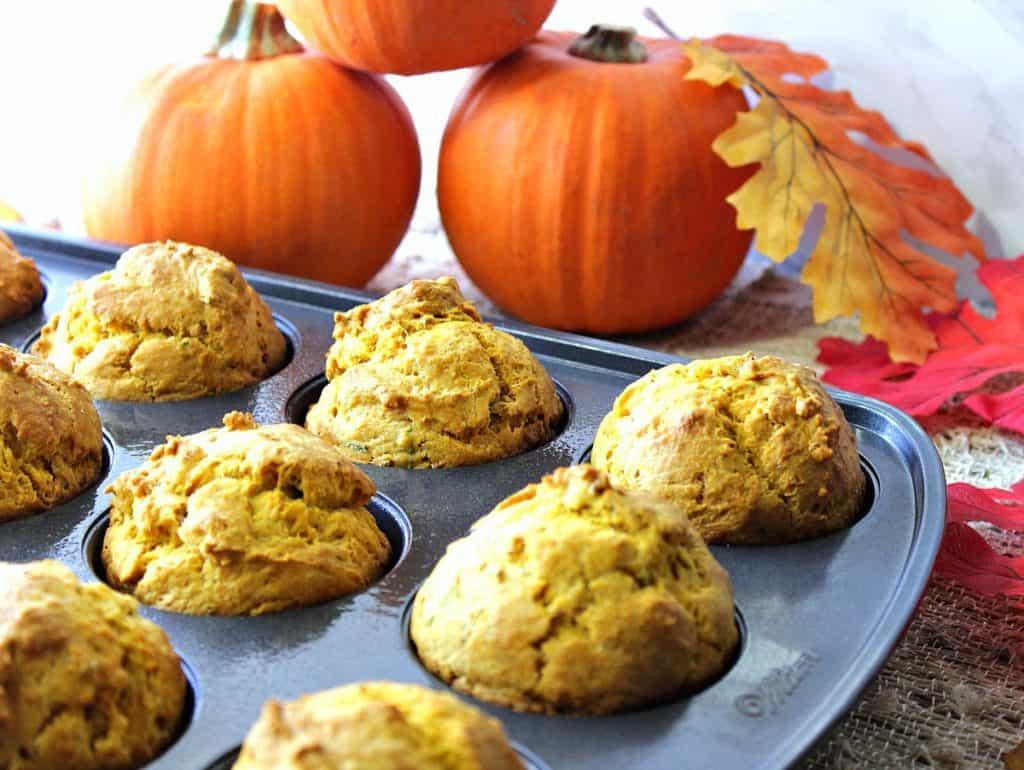 Savory Pumpkin Sage Biscuit Recipe | Kudos Kitchen by Renee