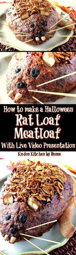 How to make a Rat Loaf Meatloaf Live on Facebook