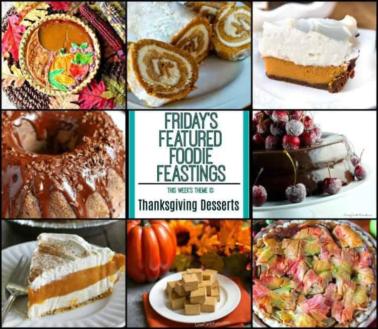 Thanksgiving Dessert Recipe Roundup Friday's Featured Foodie