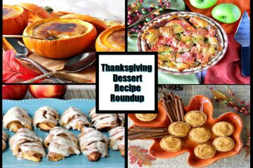 Thanksgiving Dessert Recipe Roundup