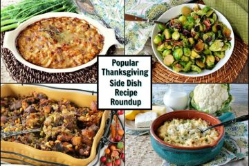 Thanksgiving Side Dish Recipe Roundup