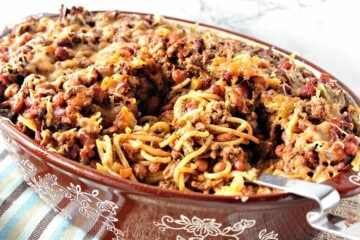 Spaghetti Western Chili Casserole