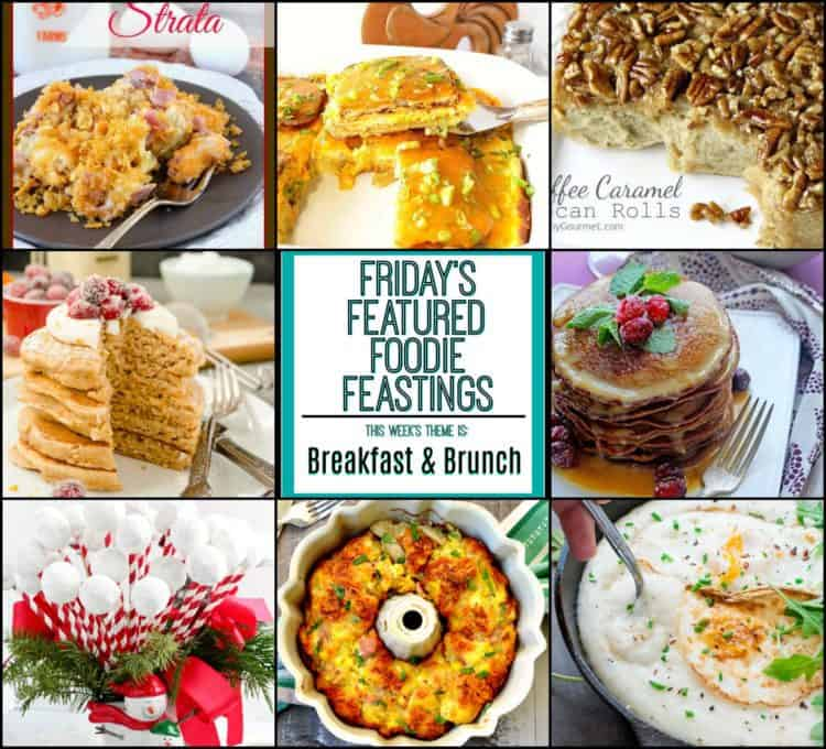 Christmas Breakfast Brunch Featured Image Collage