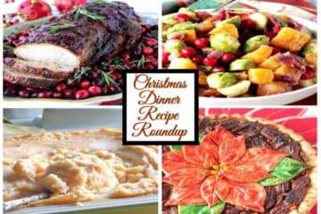 Christmas Dinner Recipe Roundup